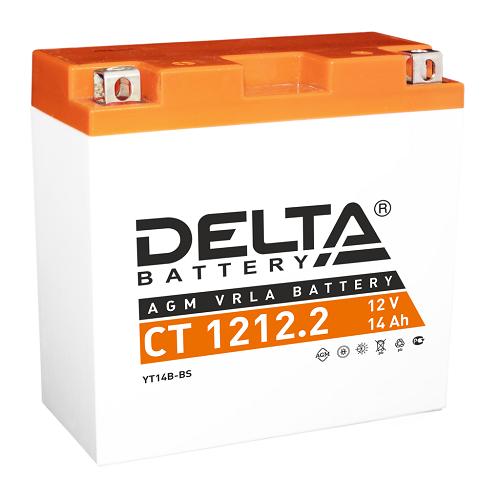 Мото-аккумулятор Delta CT 1212.2 YT14B-BS