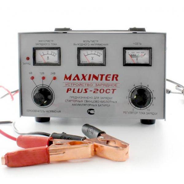Трансформаторное зарядное устройство MAXINTER PLUS 20 СT DYNAMIC