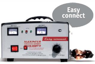 Трансформаторное зарядное устройство MAXINTER PLUS-30 BT-11 EASY CONNECT
