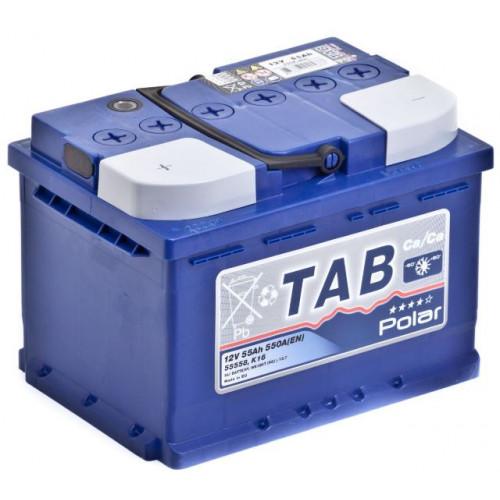 Аккумулятор TAB Polar-55, Прямая полярность