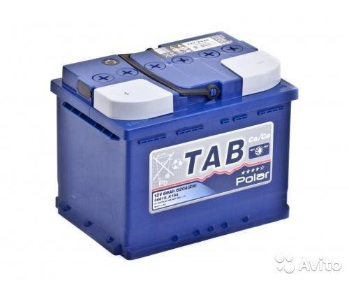 Аккумулятор TAB Polar-66, Прямая полярность