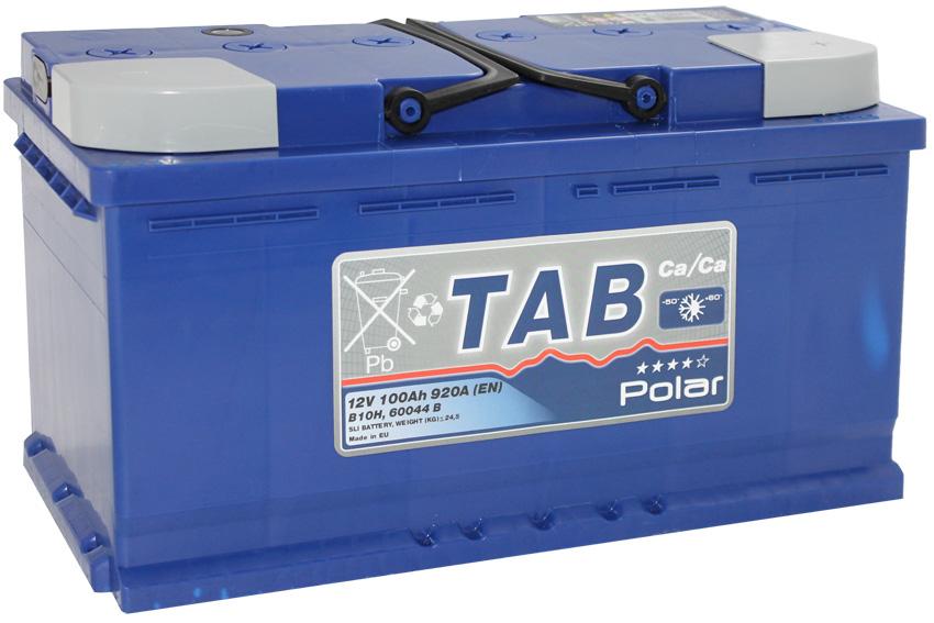 Аккумулятор TAB Polar-100, Обратная полярность