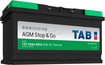 Аккумулятор TAB AGM -95, Обратная полярность