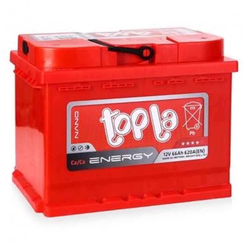Аккумулятор TOPLA ENERGY-66, Прямая полярность