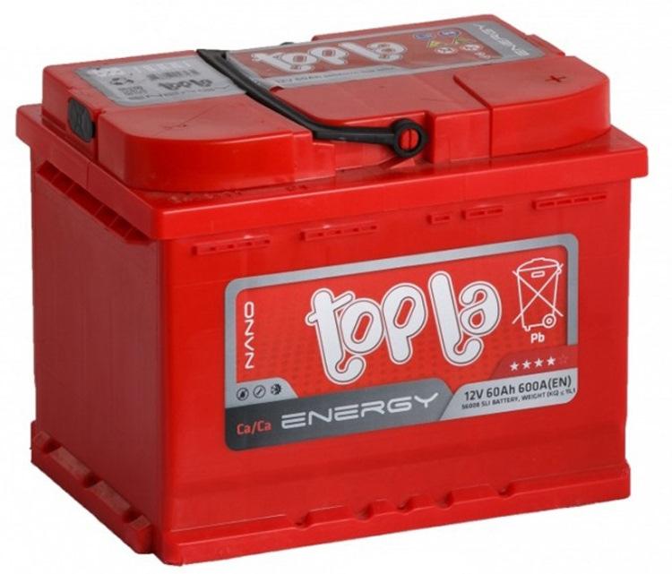 Аккумулятор TOPLA ENERGY-60, Обратная полярность
