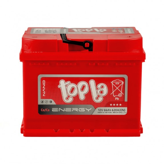 Аккумулятор TOPLA ENERGY-66, Обратная полярность