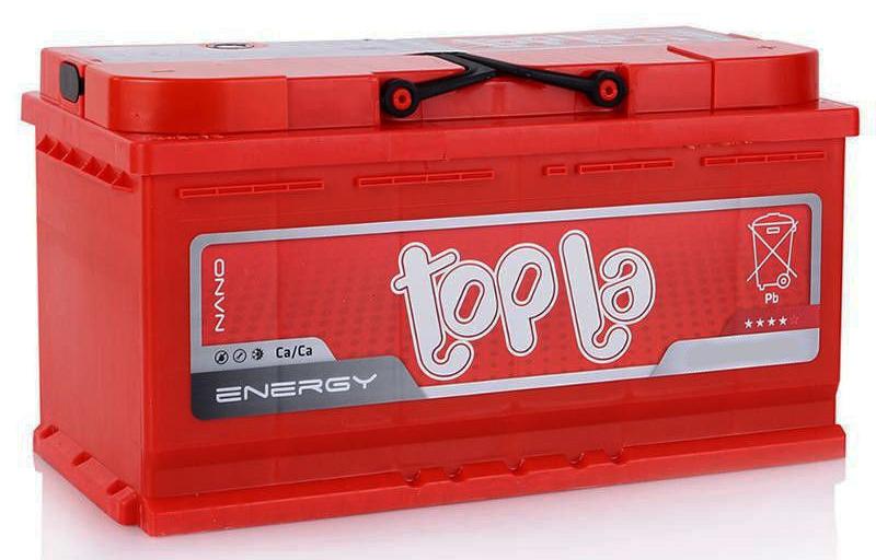 Аккумулятор TOPLA ENERGY-100, Обратная полярность