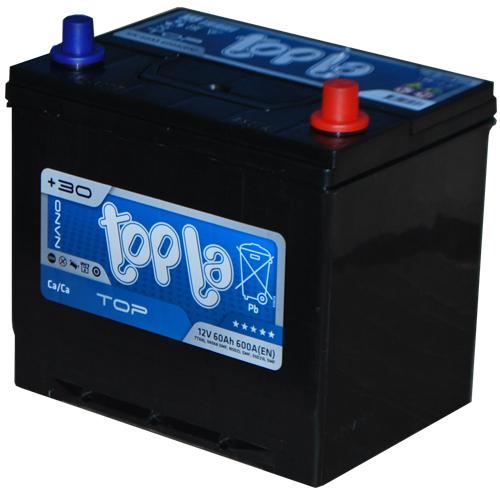 Аккумулятор TOPLA TOP-60, Обратная полярность