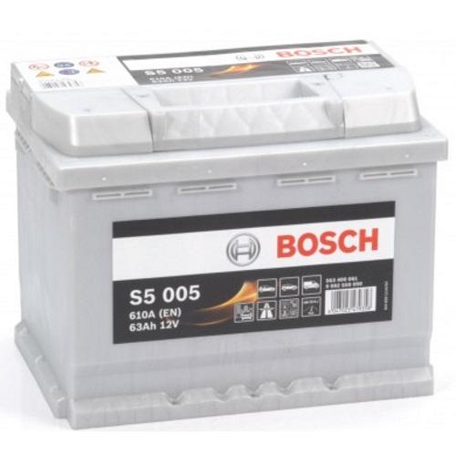 Аккумулятор BOSCH S5-63, Прямая полярность
