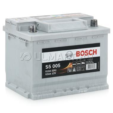Аккумулятор BOSCH S5-63, Обратная полярность