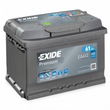 Аккумулятор EXIDE  PREMIUM-61, Обратная полярность