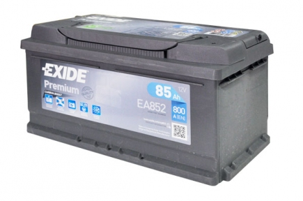 Аккумулятор EXIDE  PREMIUM-85, Обратная полярность