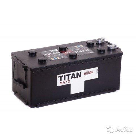 Аккумулятор TITAN-195, Обратная полярность