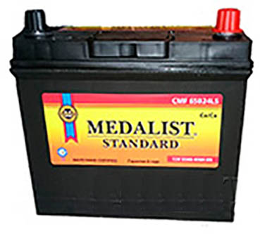 Аккумулятор MEDALIST STANDART-65, Обратная полярность