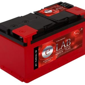 Аккумулятор E-LAB-75, Прямая полярность