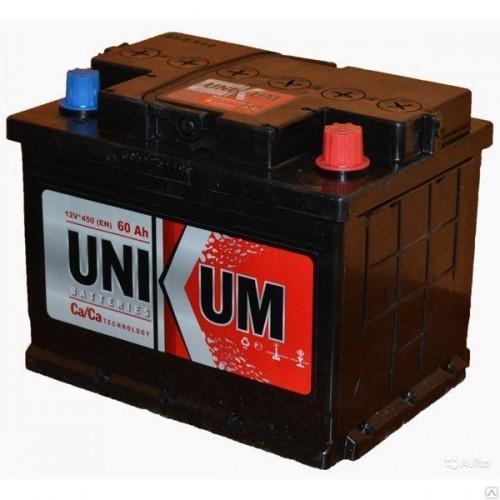 Аккумулятор UNIKUM-60, Обратная полярность