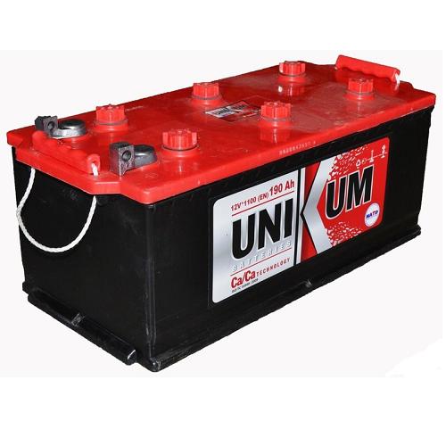 Аккумулятор UNIKUM-190, Прямая полярность