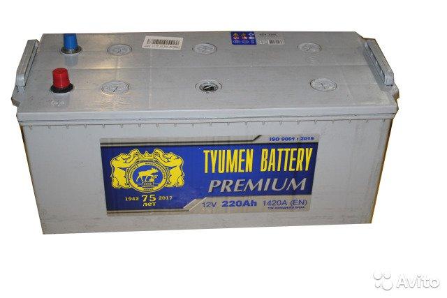 Аккумулятор TYMEN BATTERY PREMIUM-220, Обратная полярность