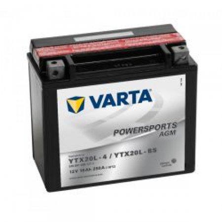 Мото-аккумулятор Varta-18 YTX20L-BS
