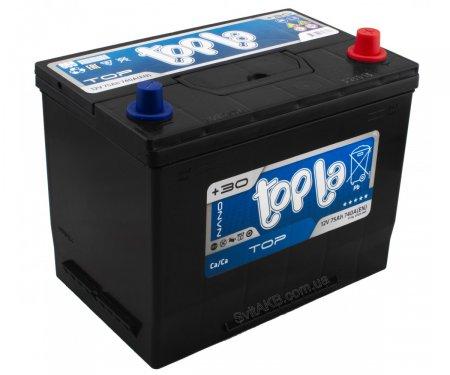 Аккумулятор TOPLA TOP-75, Обратная полярность