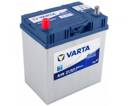 Аккумулятор VARTA BLUE DYNAMIC-40, Прямая полярность