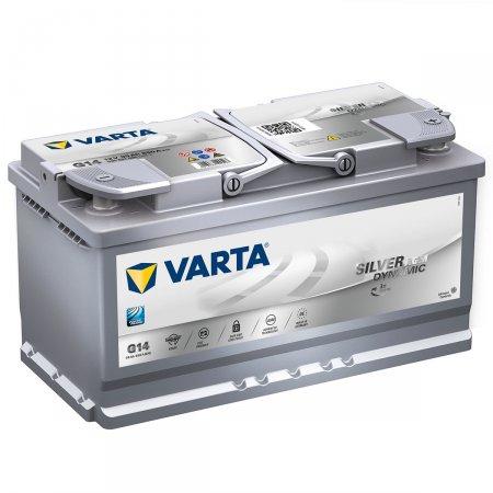 Аккумулятор VARTA AGM SILVER DYNAMIC-95, Обратная полярность
