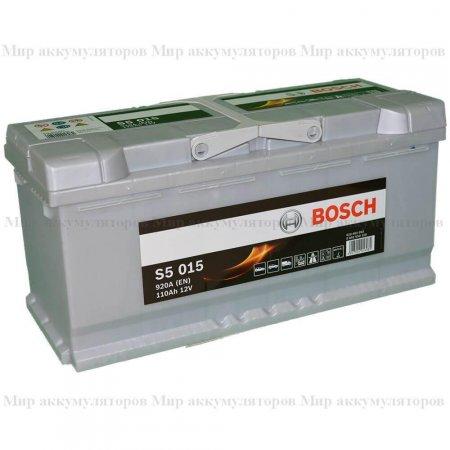 Аккумулятор BOSCH S5-110, Обратная полярность