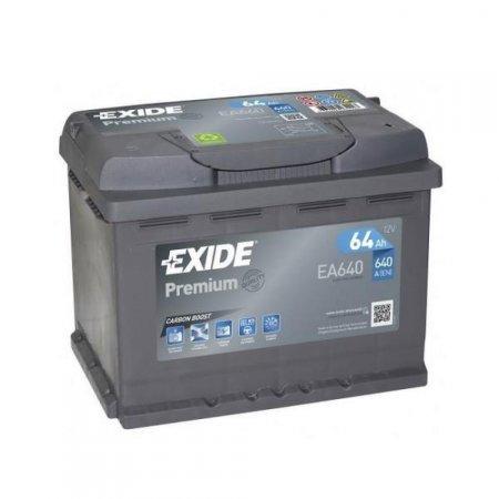 Аккумулятор EXIDE  PREMIUM-64, Обратная полярность