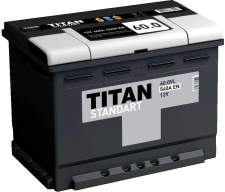 Аккумулятор TITAN-60, Прямая полярность