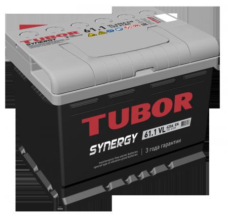 Аккумулятор TUBOR-61, Прямая полярность
