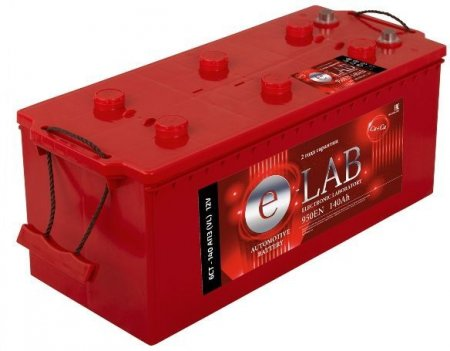 Аккумулятор E-LAB-140, Обратная полярность