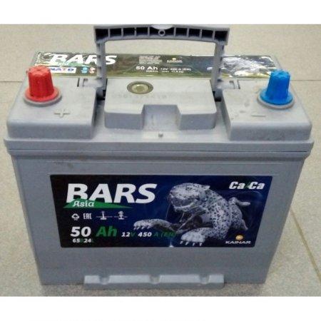 Аккумулятор BARS-50, Прямая полярность