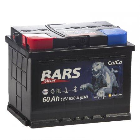 Аккумулятор BARS-60, Прямая полярность