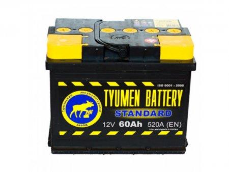 Аккумулятор TYMEN BATTERY STANDART-60, Прямая полярность
